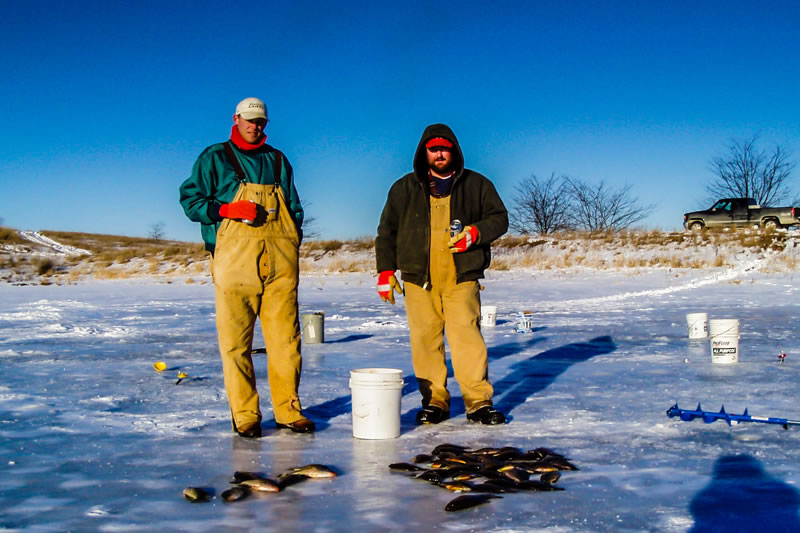 Ice Fishing Slabbers