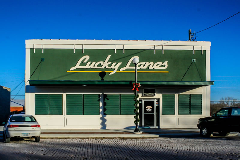 Freshly Remodeled Lucky Lanes